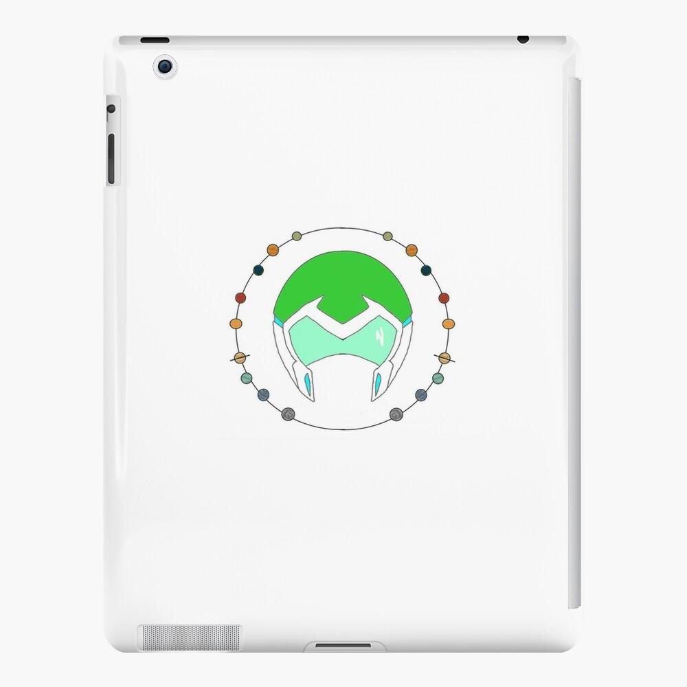 Planetarischer Paladin Helm [Grün] iPad-Hüllen & Klebefolien