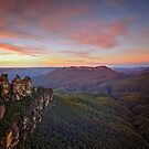 The Three Sisters, NSW by Bevlea Ross