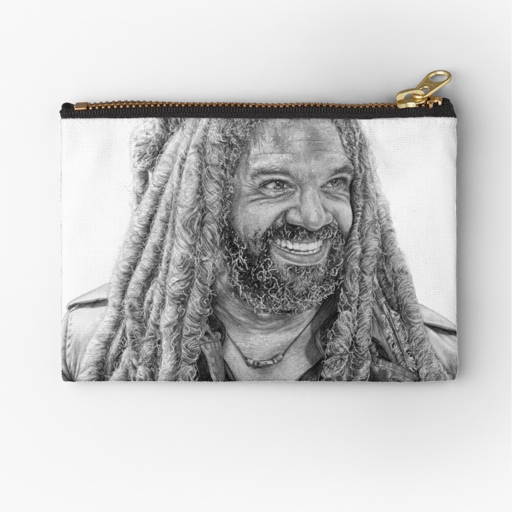 And yet I smile Zipper Pouch