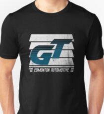Edmonton Auto - Teal & White - Slotted Up Unisex T-Shirt