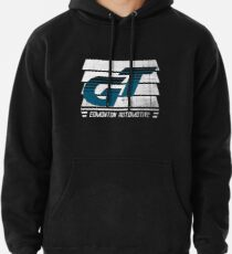 Edmonton Auto - Teal & White - Slotted Up Pullover Hoodie