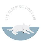 Let Sleeping Dogs Lie Clock by mayaplim