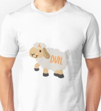 AWS Lamb Duh Slim Fit T-Shirt