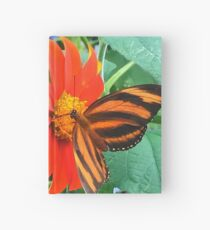"""""""Double Butterfly Love"""", Photo / Digital Painting Hardcover Journal"""