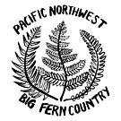 Pacific Northwest, Big Fern Country by craftordiy