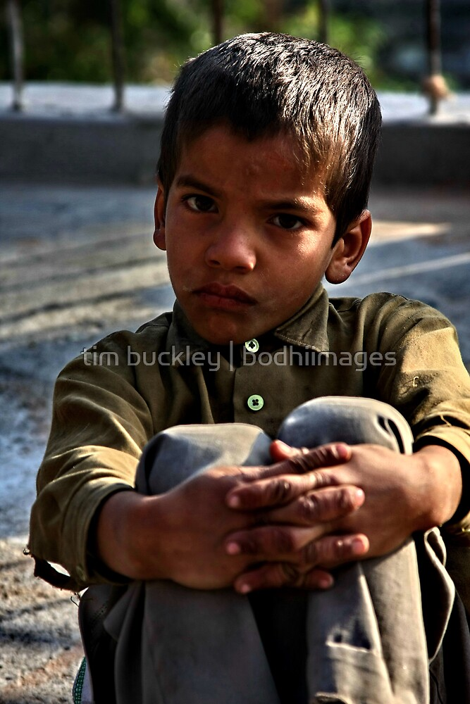 young mountain boy. northern india by tim buckley | bodhiimages
