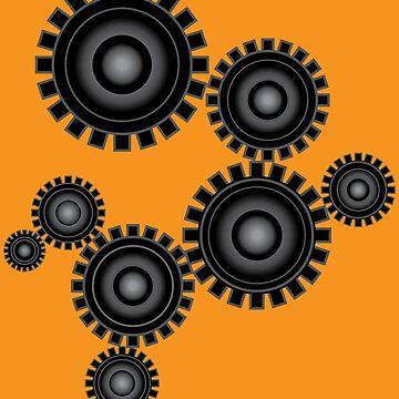 Robotics Engineering Gears by Mayhill