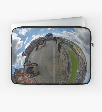 Verbal Arts Centre on the Walls of Derry Laptop Sleeve