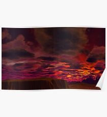 Last Sunrise at Worlds End Poster