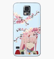 Sakura Zero Two Coque et skin Samsung Galaxy