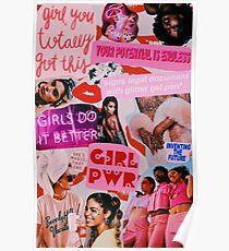 Mädchen Mode Poster