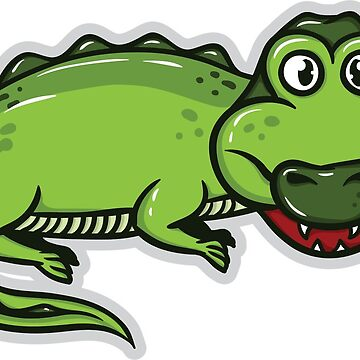 Crocodile  by madeDeduk