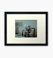 Souper Noodles Framed Print