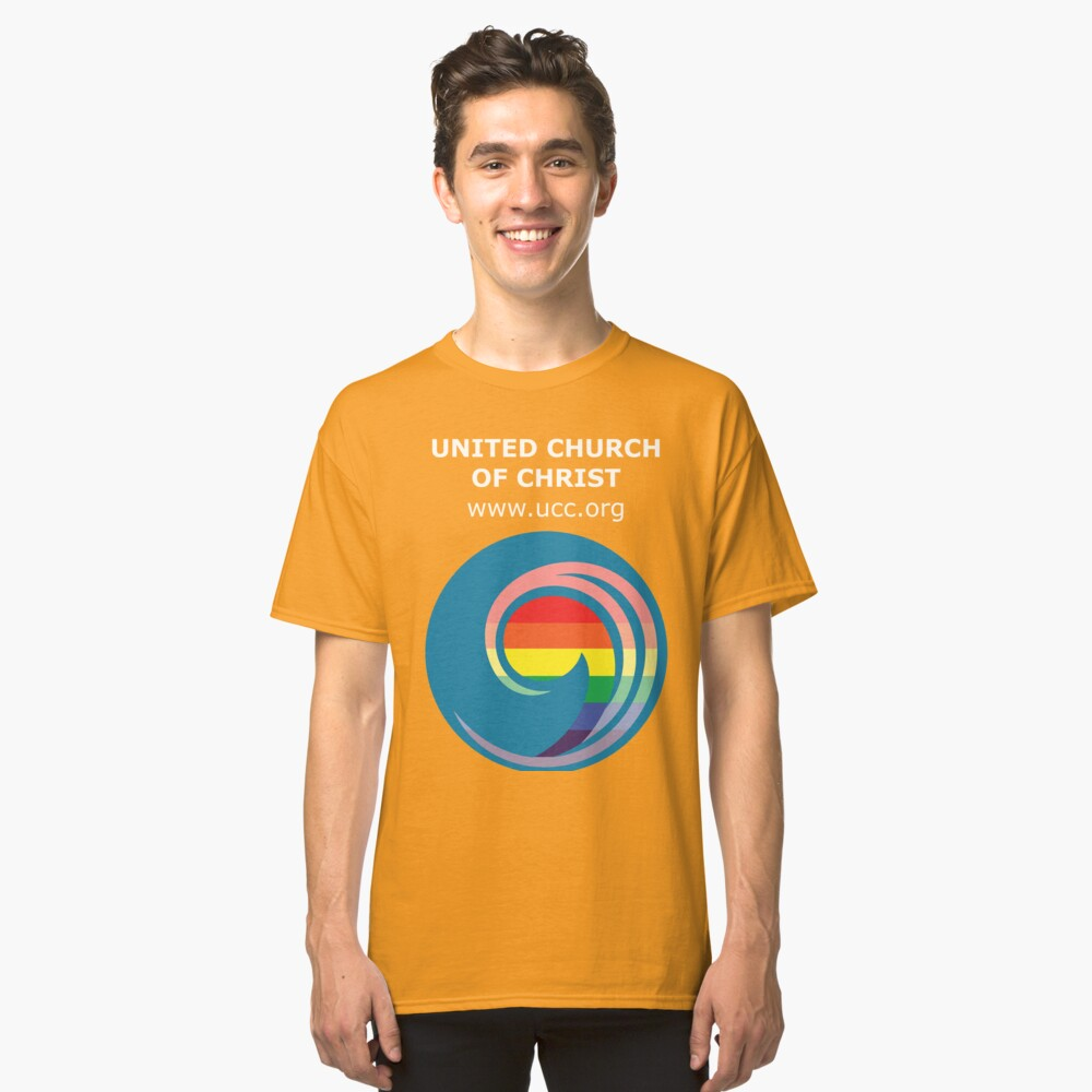 3 Great Loves - Pride Comma Classic T-Shirt Front