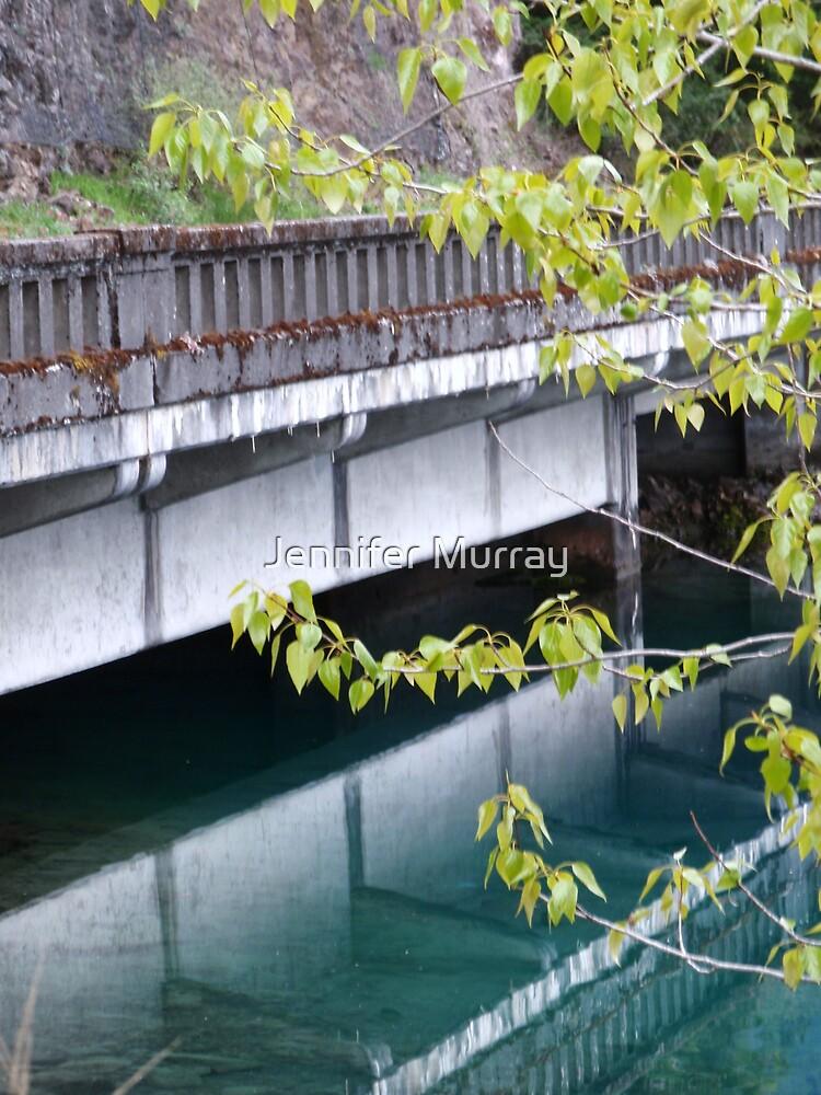 A Bridge at Lake Crescent by Jennifer Murray