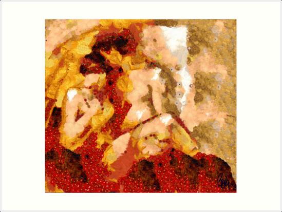 Seduction after Klimt.... by bev langby