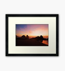 Pacific Radiance Framed Print