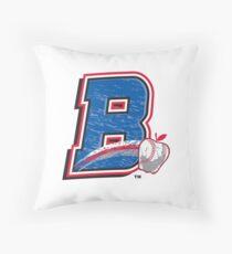 Rockland Boulders Logo Throw Pillow