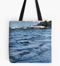 Overlooking the Sound Tote Bag