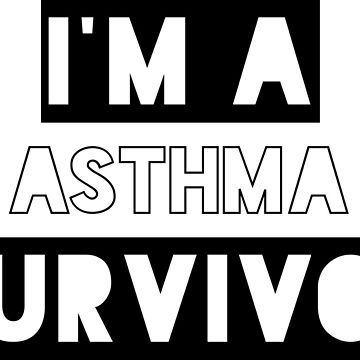 Survivor - Asthma (black) by fionawb