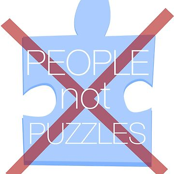 people not puzzles by 8BitAngel