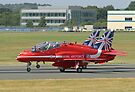 3 Arrow Take Off - Front Wheels Lifting - Farnborough 2014 by Colin  Williams Photography