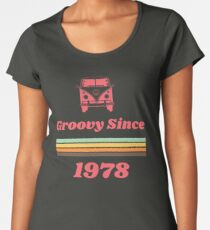 Vintage 1978 40th Birthday Gift Tshirt Womens Premium T Shirt