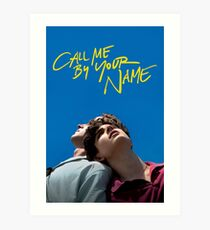 Call me by your name poster Art Print