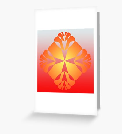 Artistic Multiple Hearts Greeting Card