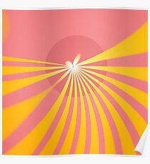 Butterfly Sun Poster