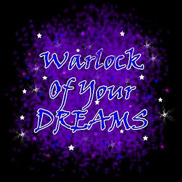 Warlock Of Your Dreams (Blue) by blakcirclegirl
