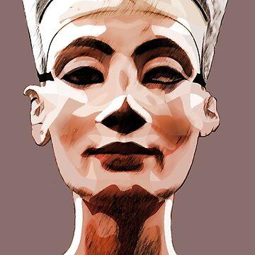 Nefertiti  by painterfrank