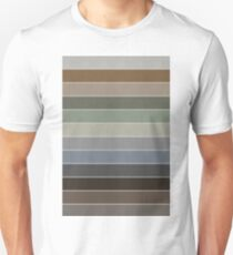 Earthtone colors Unisex T-Shirt