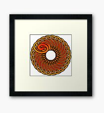 Artistic Abstract Graphic Design Framed Print