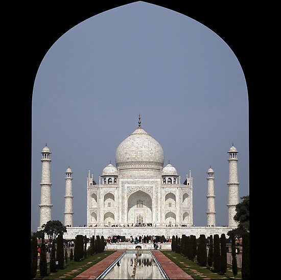 Taj Mahal, India by AravindTeki