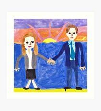 The Wedding Gift -  Art Print