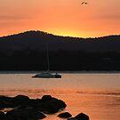 Tasmanian east coast sunset scene by quentinjlang