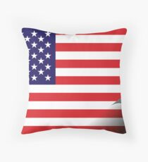 Inside USA Throw Pillow