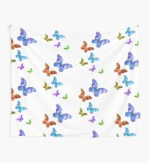 Butterfly Rainbow Chain Wall Tapestry