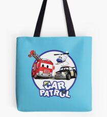 Car Patrol of Car City Tote Bag