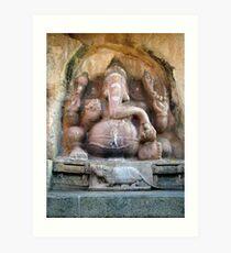 Sri Ganesh Art Print