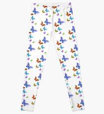 Butterfly Rainbow Chain Leggings