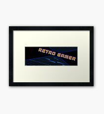 Retro Gamer - Arcade Grid Framed Print