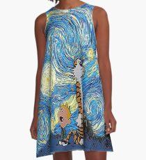 Calvin Hobbes A-Line Dress