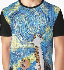 Calvin Hobbes Graphic T-Shirt