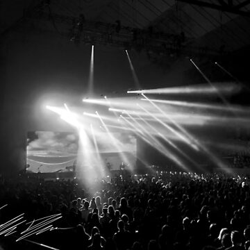 Rock Concert BW by TheTimekeeper