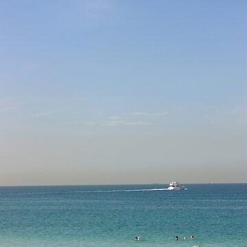JBR Beach  by sylvianik