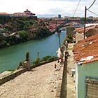 View on the River Douro, Oporto  by Gili Orr