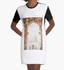 Sheikh Zayed Grand Mosque,  collage Graphic T-Shirt Dress
