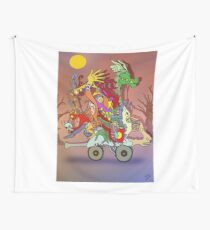 Fantasticated Transportation Authority Wall Tapestry